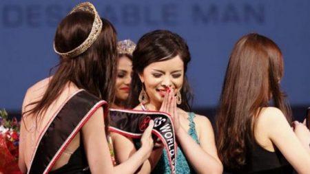 Perché Miss Mondo Canada 2015 si è rifiutata di sfilare in costume
