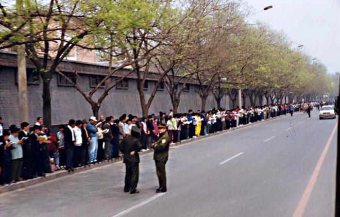 La verità sulla grande manifestazione del Falun Gong in quel 25 aprile del 1999