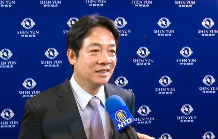 Ex premier di Taiwan: Shen Yun merita di essere visto