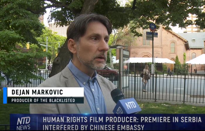 Serbia, ingerenze del Pcc alla première del film 'The Blacklisted'