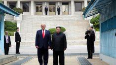 Lo storico ingresso di Trump in Corea del Nord