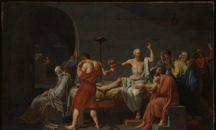 Socrate: un uomo virtuoso non teme né la vita né la morte
