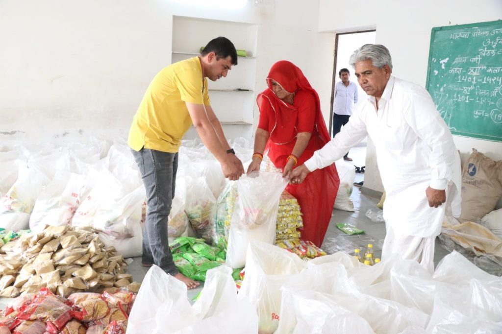 contadini indiani generosi