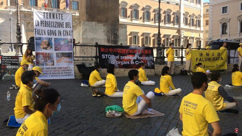 Roma, Falun Gong chiede la fine della persecuzione in Cina