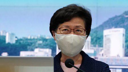 Gli Usa sanzionano la leader di Hong Kong e altri 10 funzionari