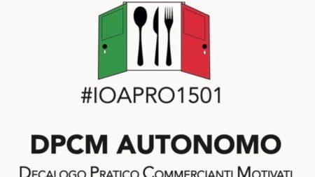 'Io apro', la disobbedienza civile di 50 mila ristoratori