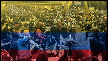 La Colombia nel caos