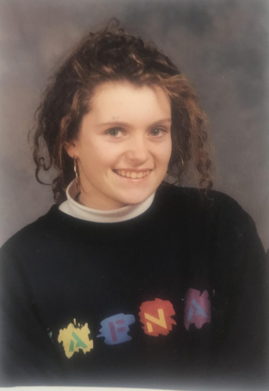 Helen Marshall da giovane