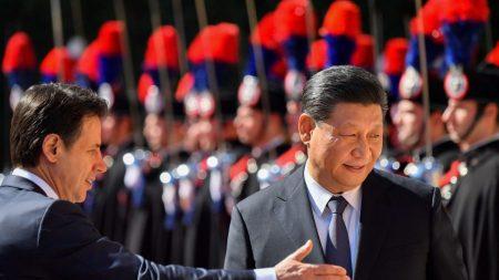 Il governo italiano sta prendendo le distanze dal regime cinese