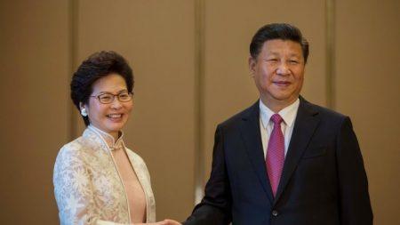 Xi Jinping e la leader di Hong Kong Carrie Lam nella lista dei predatori della libertà di stampa