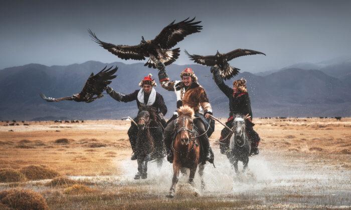 Il legame profondo tra gli ultimi guardiani di aquile della Mongolia e i loro potenti uccelli