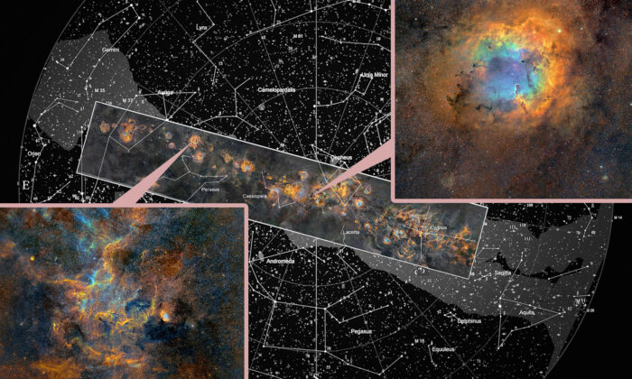Fotografo cattura un'immagine straordinaria della Via Lattea in alta risoluzione