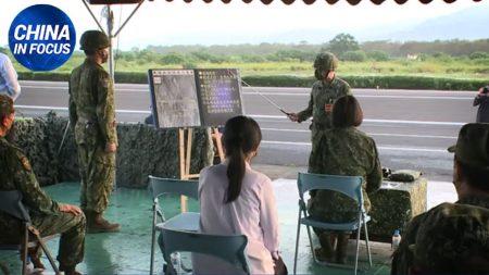 Taiwan si prepara a respingere l'invasione del regime cinese | China in Focus
