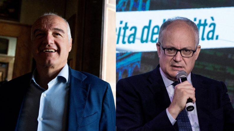 Roma al ballottaggio, chi sono Michetti e Gualtieri?