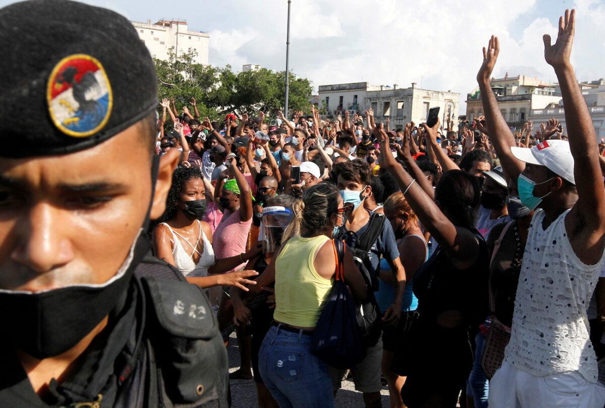 Proteste a L'avana